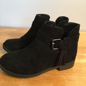 38ec4aa685f0 Jessica Simpson Black Jaccinto Boot Size 11 Girls